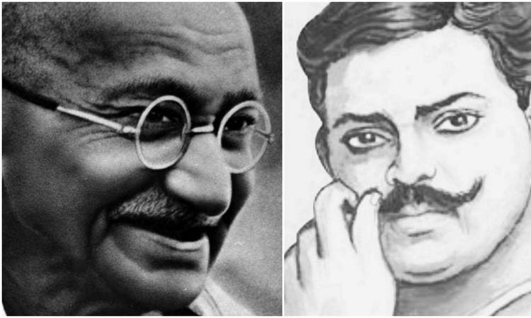 Chandrashakhar Azad joined Gandhi