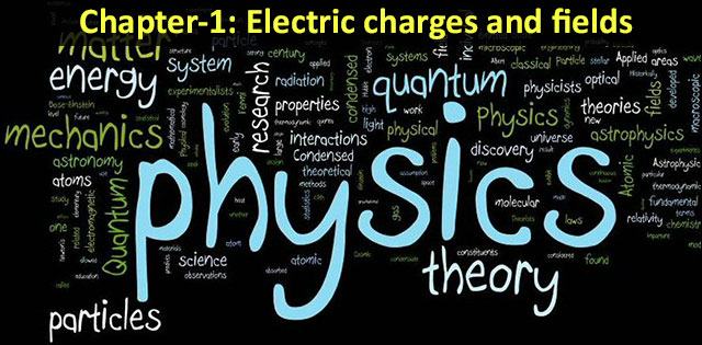 Class 12 NCERT Physics Chapter-1