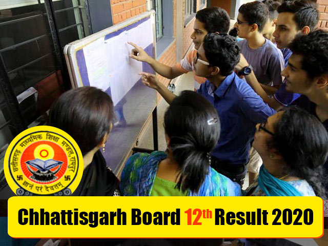 Chhattisgarh-Board-12th-Result-2020