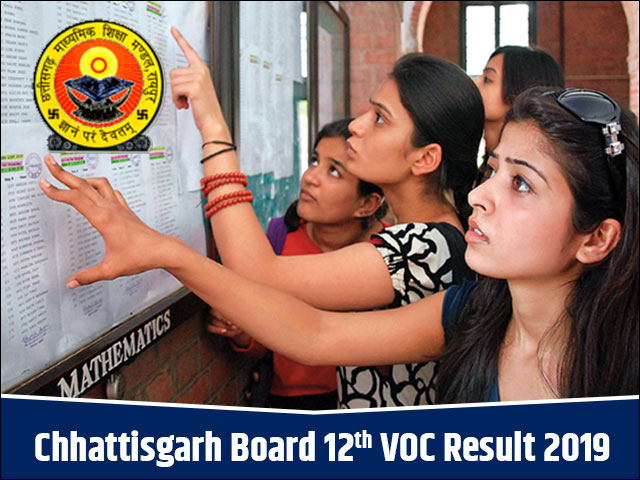 Chhattisgarh-Board-12th-VOC-Result-2019