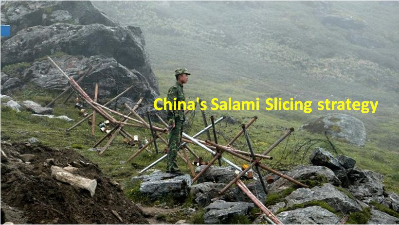 China's Salami Slicing strategy