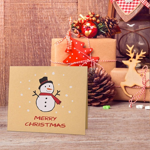 Merry Christmas 2019: Greeting Cards