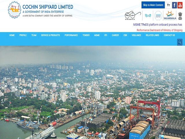 Cochin Shipyard Limited (CSL) Deputy Manager Posts 2020