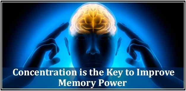 Concentration is the key factor to boost your memory