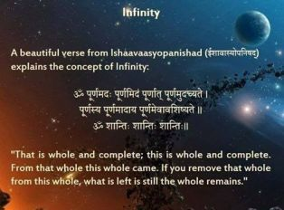 Concept of infinity