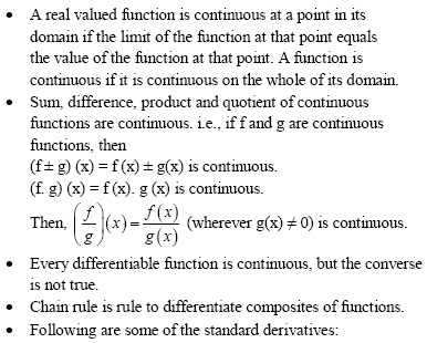 WBJEE Continuity and Differentiability