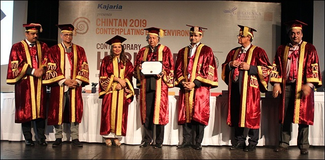 GD Goenka special convocation ceremony 2019 - Contemplating Built Environment