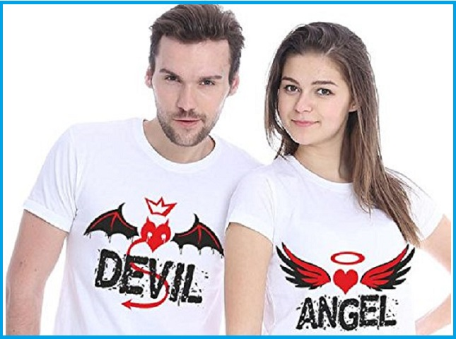 Couple T-Shirt for Men & Women