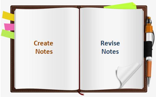 Create Notes SSC CGL Exam