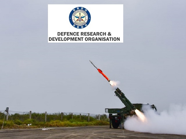 Defence Research and Development Organisation (DRDO) Recruitment 2019
