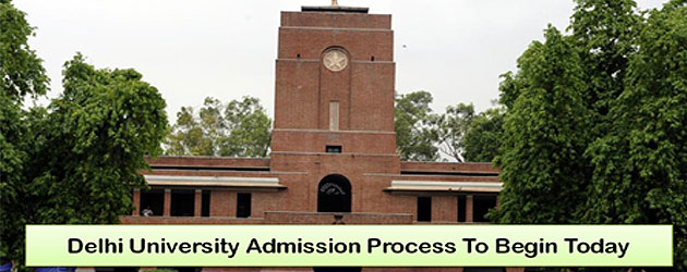 Delhi University Admission Process Begins Today Forms To Be Available From 5 PM