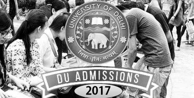 DU to follow merit based cutoffs No entrance for UG Courses