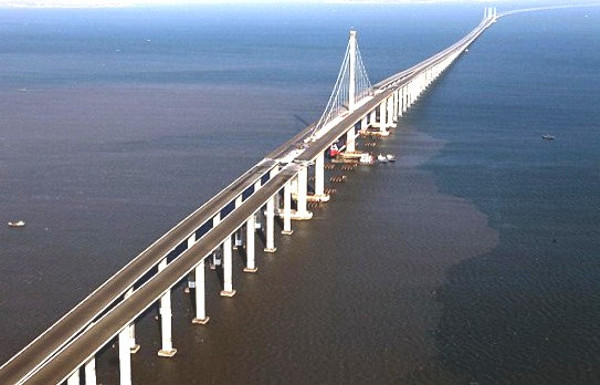 Danyang Kunshan Grand Bridge straight