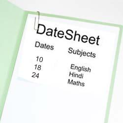 CBSE Class 12 Date Sheet 2011