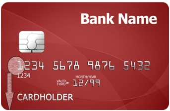 What do 16 numbers on debit card represents?