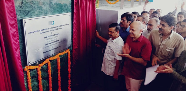 Delhi CM inaugurated IIIT Delhi Phase 2 Campus today