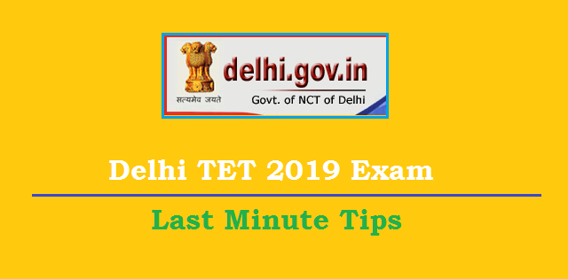 Delhi TET Preparation Tips