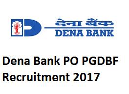 Dena Bank PGDBF Course 2017