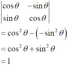 NCERT Solutions for CBSE Class 12 Mathematics ‒ Chapter 4: Determinant (Exercise 4.1, Solution 2 - i)