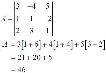 NCERT Solutions for CBSE Class 12 Mathematics ‒ Chapter 4: Determinant (Exercise 4.1, Solution 5 - iii)