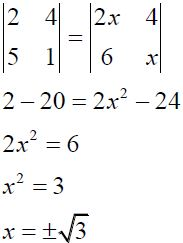NCERT Solutions for CBSE Class 12 Mathematics ‒ Chapter 4: Determinant (Exercise 4.1, Solution 7 - i)