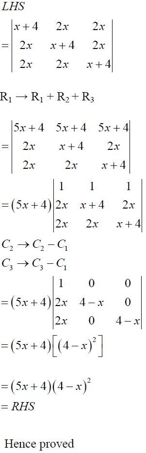NCERT Solutions for CBSE Class 12 Mathematics ‒ Chapter 4: Determinant, Exercise 4.2 (Solution 10 - i)