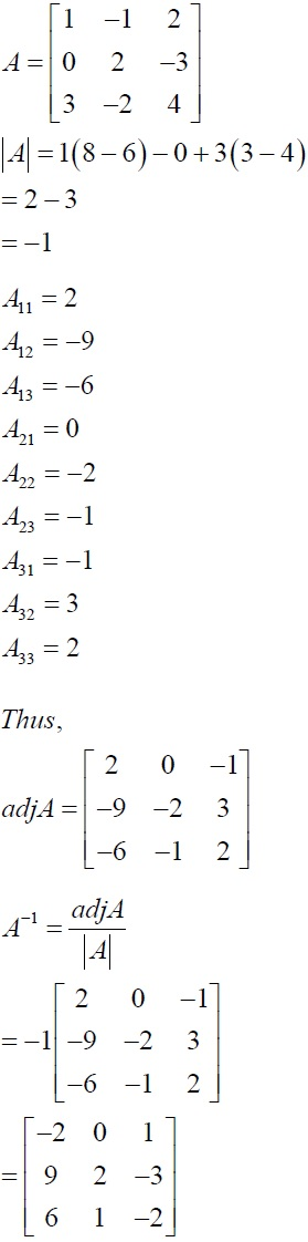 NCERT Solutions for CBSE Class 12 Mathematics ‒ Chapter 4: Determinant (Solution 10)
