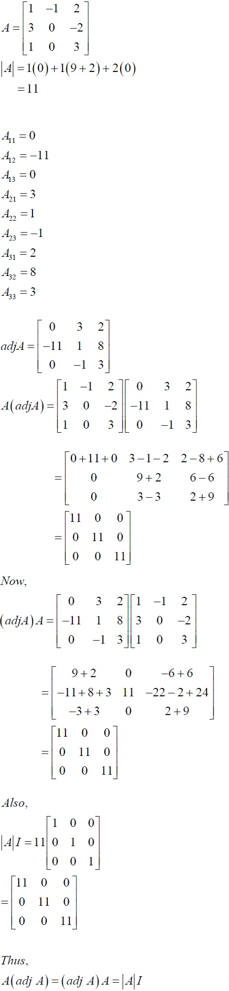 NCERT Solutions for CBSE Class 12 Mathematics ‒ Chapter 4: Determinant (Solution 4)