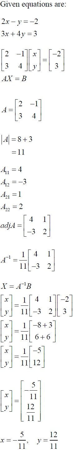 NCERT Solutions for CBSE Class 12 Mathematics ‒ Chapter 4: Determinant (Solution 8)