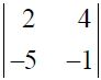 NCERT Solutions for CBSE Class 12 Mathematics ‒ Chapter 4: Determinant (Exercise 4.1, Question 1)