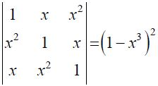 NCERT Solutions for CBSE Class 12 Mathematics ‒ Chapter 4: Determinant, Exercise 4.2 (Question 12)