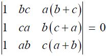 NCERT Solutions for CBSE Class 12 Mathematics ‒ Chapter 4: Determinant, Exercise 4.2 (Question 4)