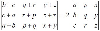 NCERT Solutions for CBSE Class 12 Mathematics ‒ Chapter 4: Determinant, Exercise 4.2 (Question 5)