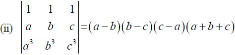 NCERT Solutions for CBSE Class 12 Mathematics ‒ Chapter 4: Determinant, Exercise 4.2 (Question 8 - ii)