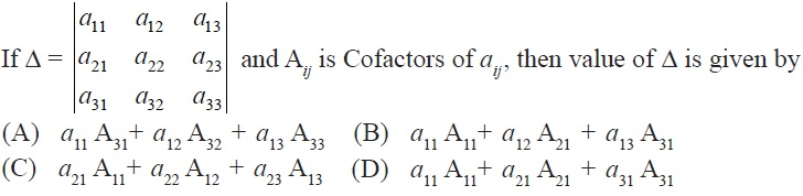 NCERT Solutions for CBSE Class 12 Mathematics ‒ Chapter 4: Determinant, Exercise 4.4 (Question 5)