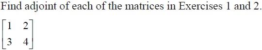 NCERT Solutions for CBSE Class 12 Mathematics ‒ Chapter 4: Determinant (Question 1)