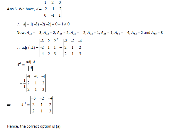 Questions on determinants