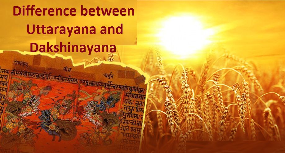 What is the difference between Uttarayan and Dakshinayan?