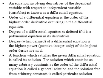 UPSEE Differential Equation Concepts 1