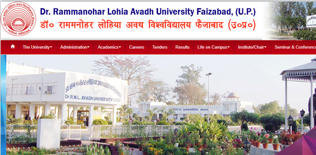 Dr Ram Manohar Lohia Avadh University BBA, BCA semester 6 result declared at rmlau.ac.in, check now