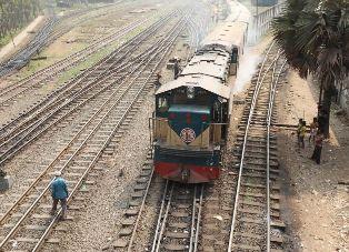 Dual railway Track