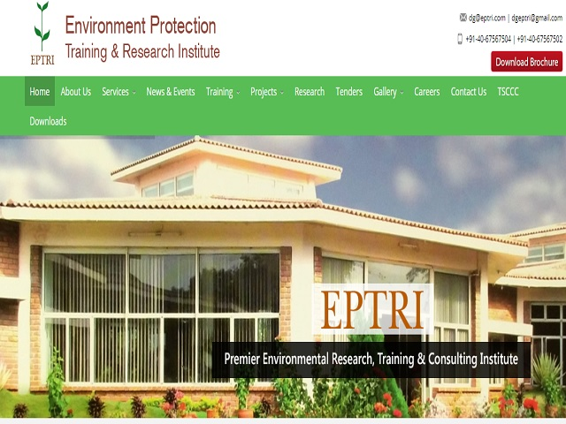 Environmental Protection Training and Research Institute Recruitment 2019
