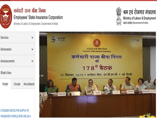 ESIC, New Delhi Recruitment 2019