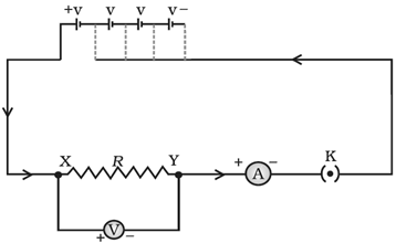 circuit diagram for ohm's law