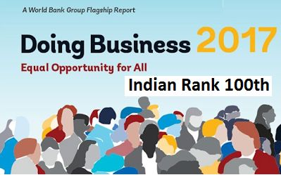 Ease of Doing Business Ranking India 2017