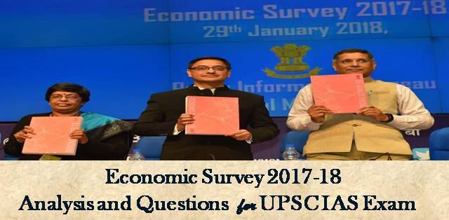 Economic Survey 2017-18 Questions Prices and Inflation