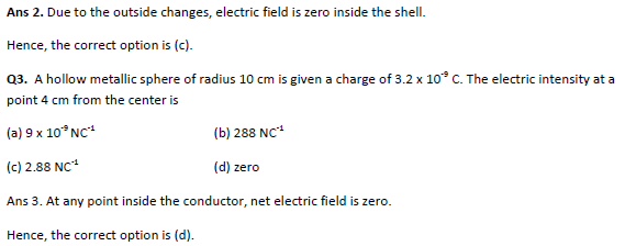 practice questions on electric flux