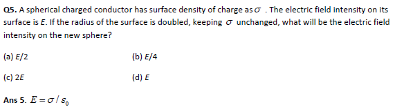 Electric Potential practice questions