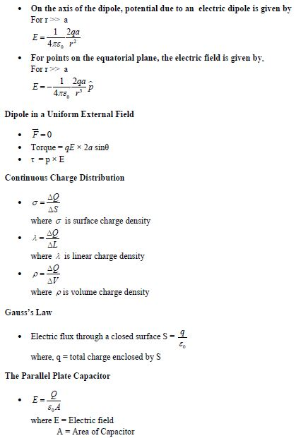 UPSEE Electrostatics concepts 3