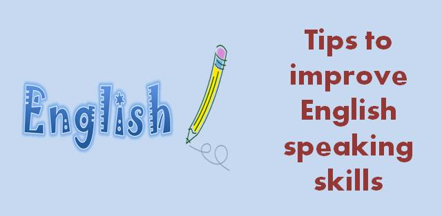 Simple tips to improve your English speaking skills